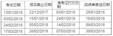 2018年1月至3月雅思考试开放报名的通知.png