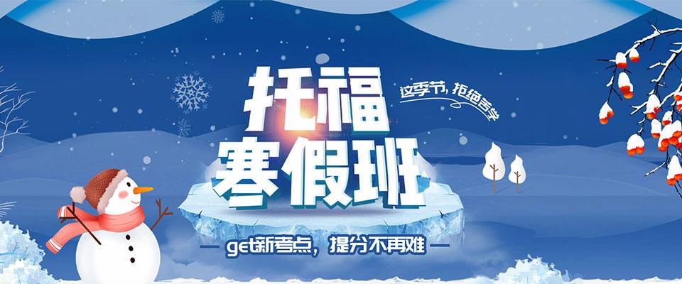 2020东莞托福寒假班