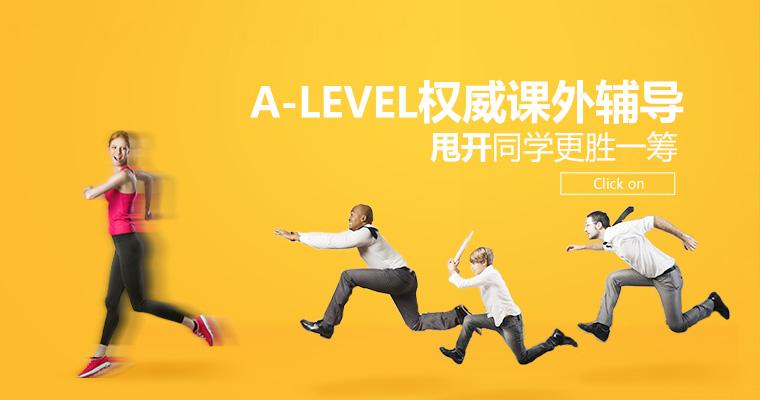 A-Level权威课外辅导